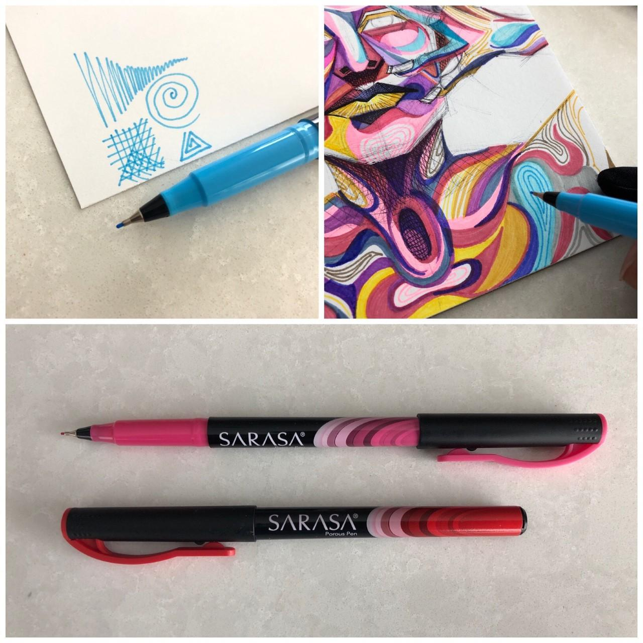 Sarasa Fineliner pens