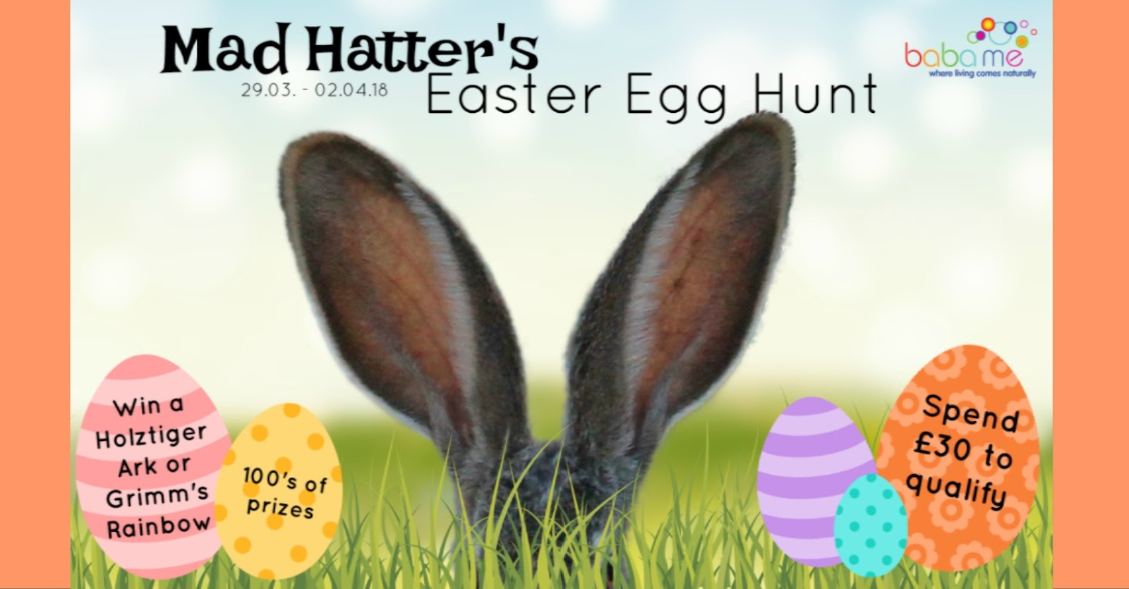 Alternative easter egg hunt baba me alternative easter egg hunt hi its badfairy here id like to fill you in on all the details of our easter weekend free gift promotion negle Choice Image