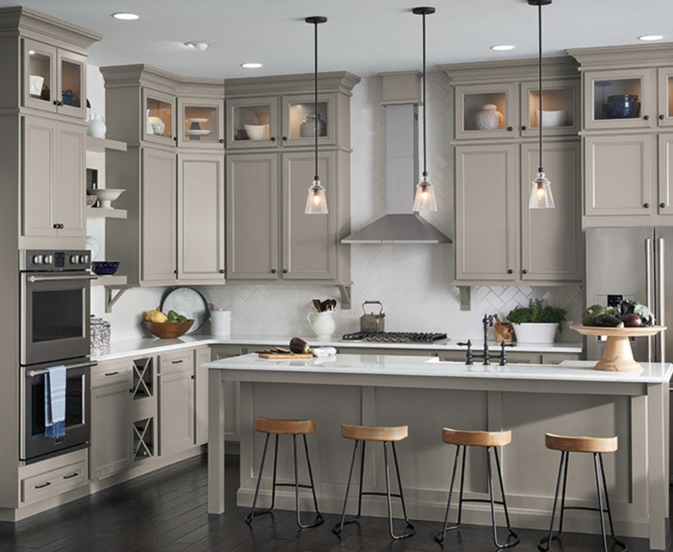 Aristokraft Cabinetry for kitchen redesign, Johnson Lumber, Maryland Kitchen Design