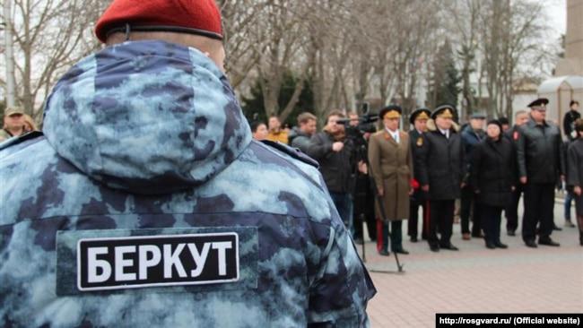 Нагородження бійців спецпідрозділу «Беркут» в окупованому Севастополі. 25 лютого 2019 року