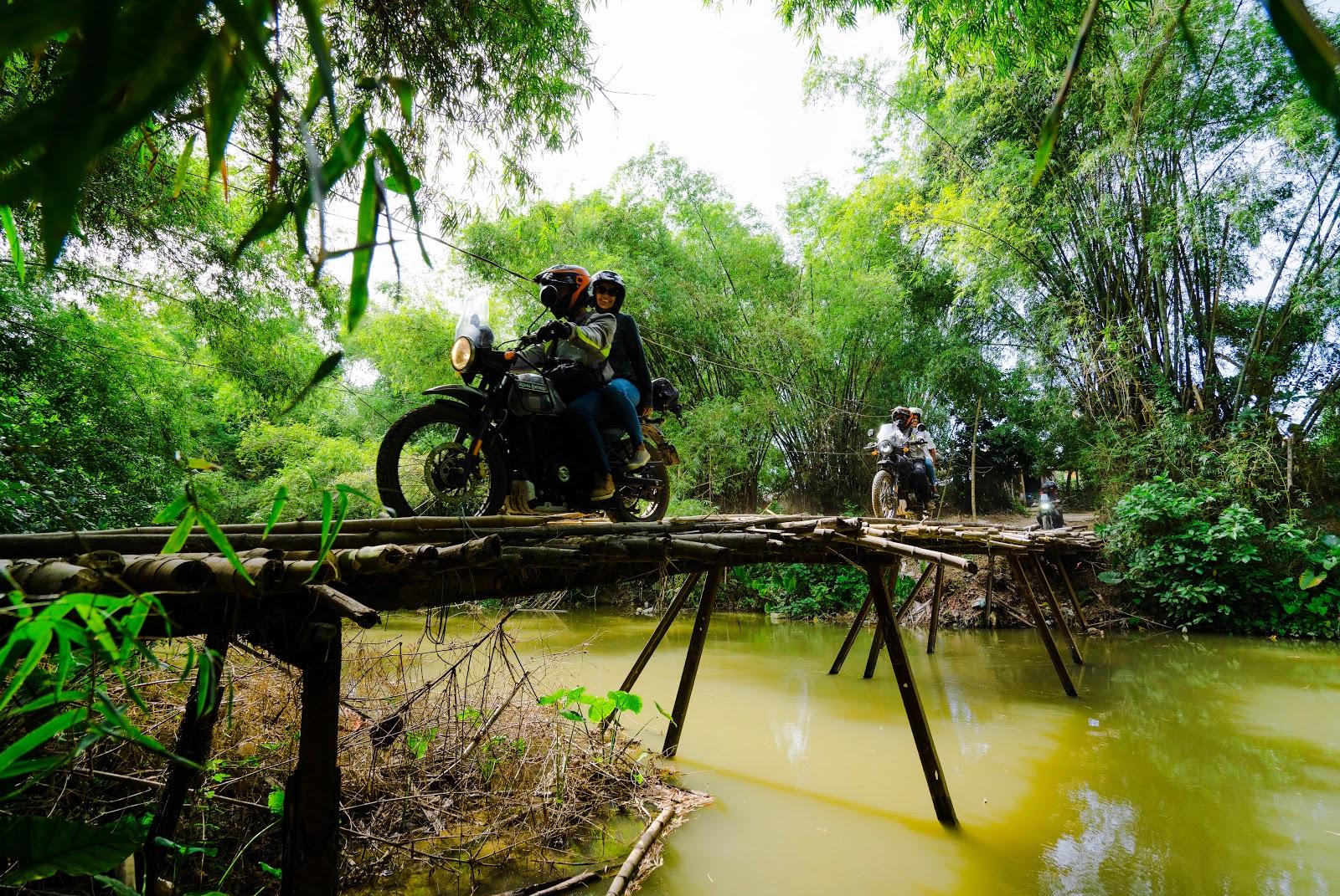 Onyabike Adventures on one of their motorbike tours in Vietnam