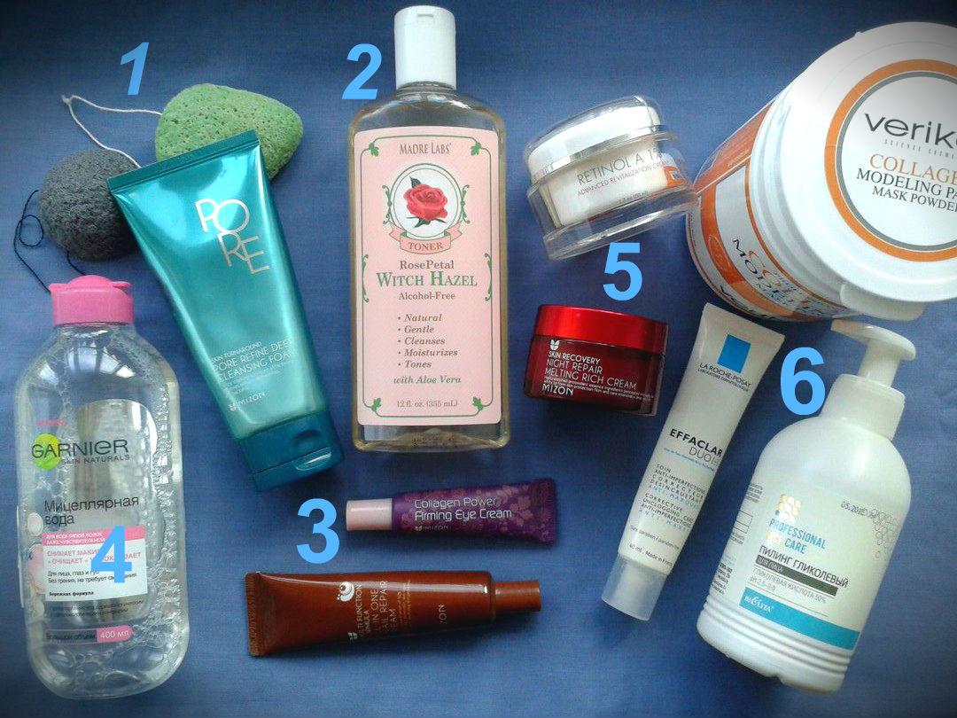 Засоби для щоденного догляду за шкірою обличчя