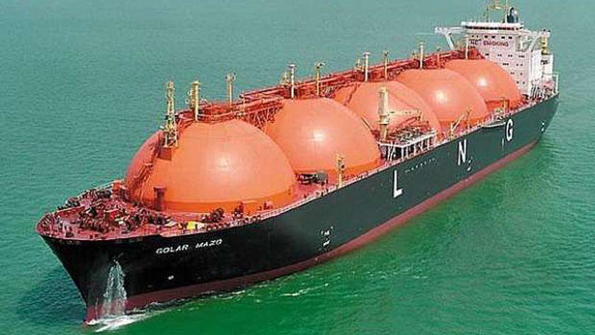 ناقلات تصدير الغاز الطبيعي