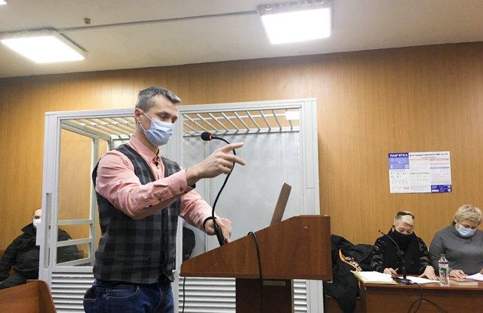 Ігор Луценко у суді