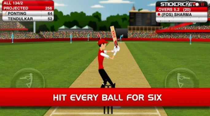 best sports games for android cricket