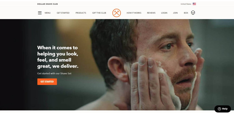 Dollar Shave Club Screenshot