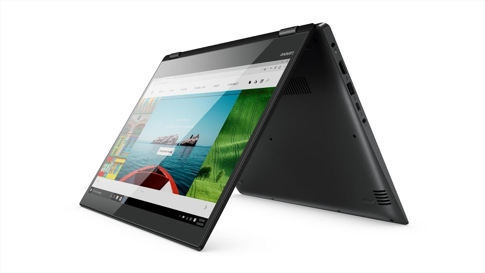 Фото2  Ультрабук Lenovo Yoga 520 Onyx Black (81C800D5RA)