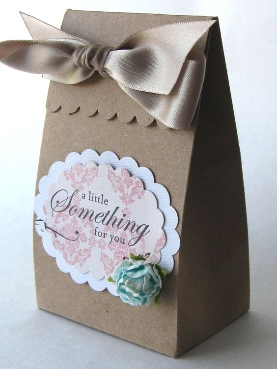 'A Little Something for You' - Personal touch gift bag.