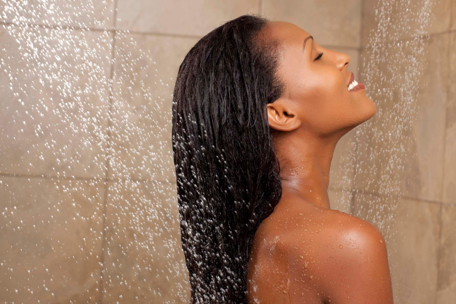 Wash your hair twice before getting the blowout