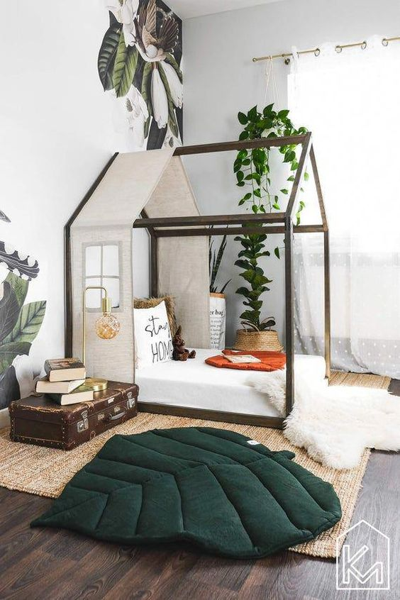 Jumanji Styled Bedroom for A 4-Year-Old Boy