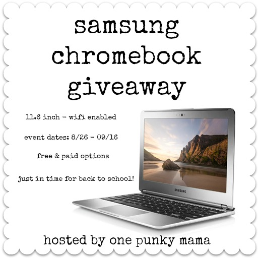 Samsung Chromebook Blogger Opp