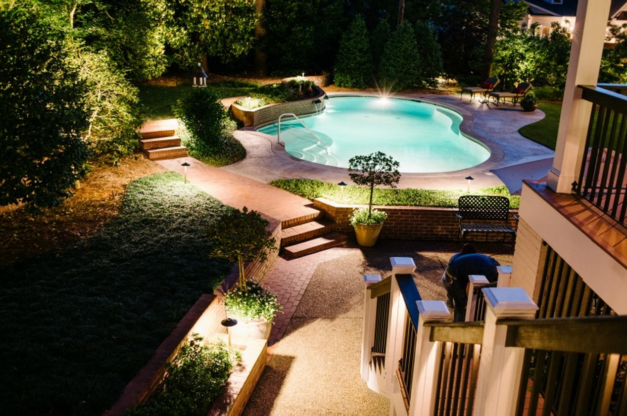 patio lighting by outdoor lighting perspectives