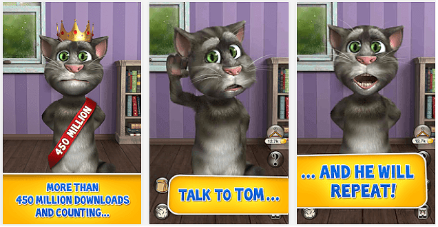 Talking Tom Cat 2 App voor Android, iPhone en iPad
