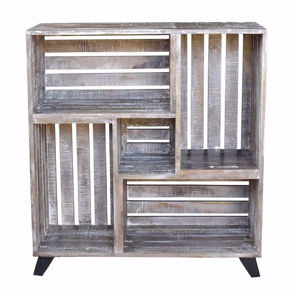 Picture of Reclaimed Wood Crate Bookcase