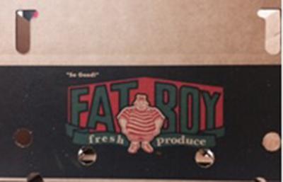 Fat Boy Label Carton