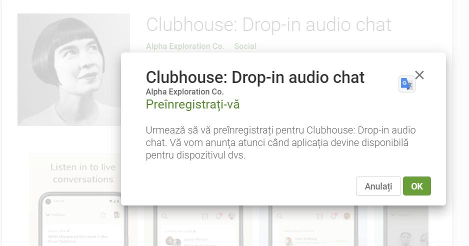Noutati din marketing, mai 2021 - Clubhouse anunta lansarea aplicatiei beta pentru Android