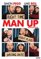 Man Up cover image. Shows a man and a woman in photo-booth snapshots.