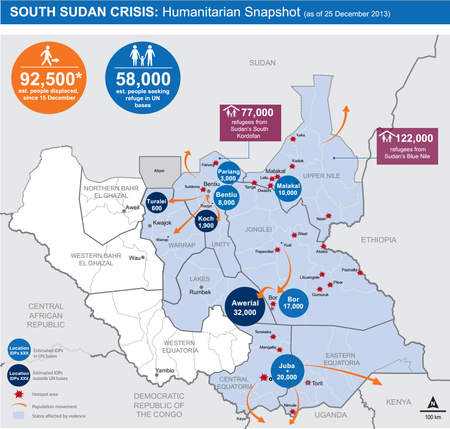 Can Crisis Mapping Help S Sudan  TechChange  The Institute for