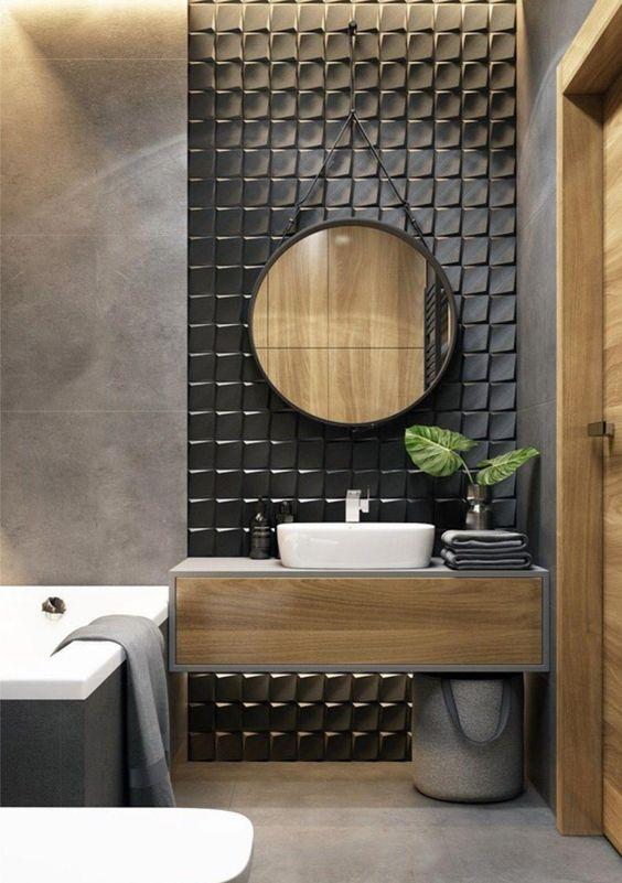 os detalhes são toques finais na decoração dos banheiros