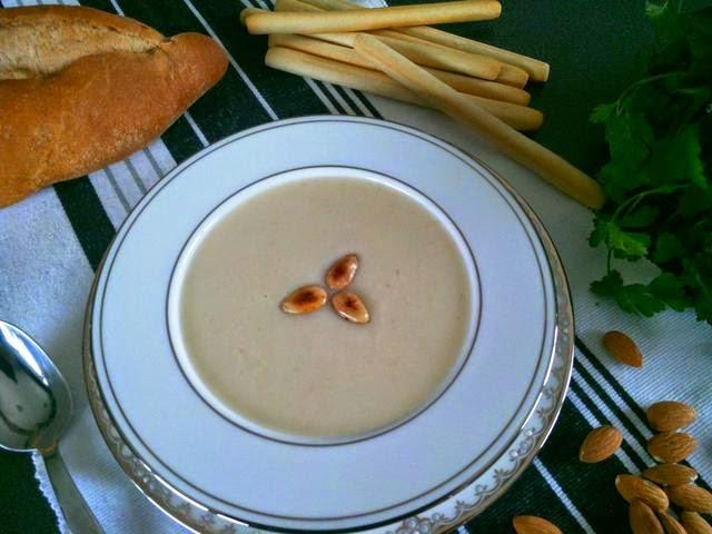 almond soup ottoman cuise, asitane restaurant