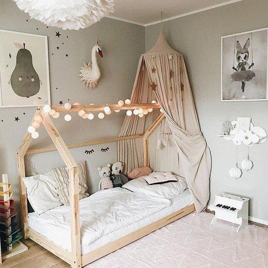 Beautify Little Girl Bedroom Walls