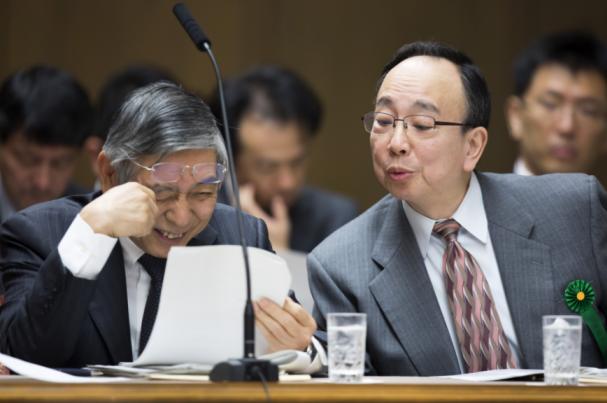 Image du gouverneur japonais de la BOJ