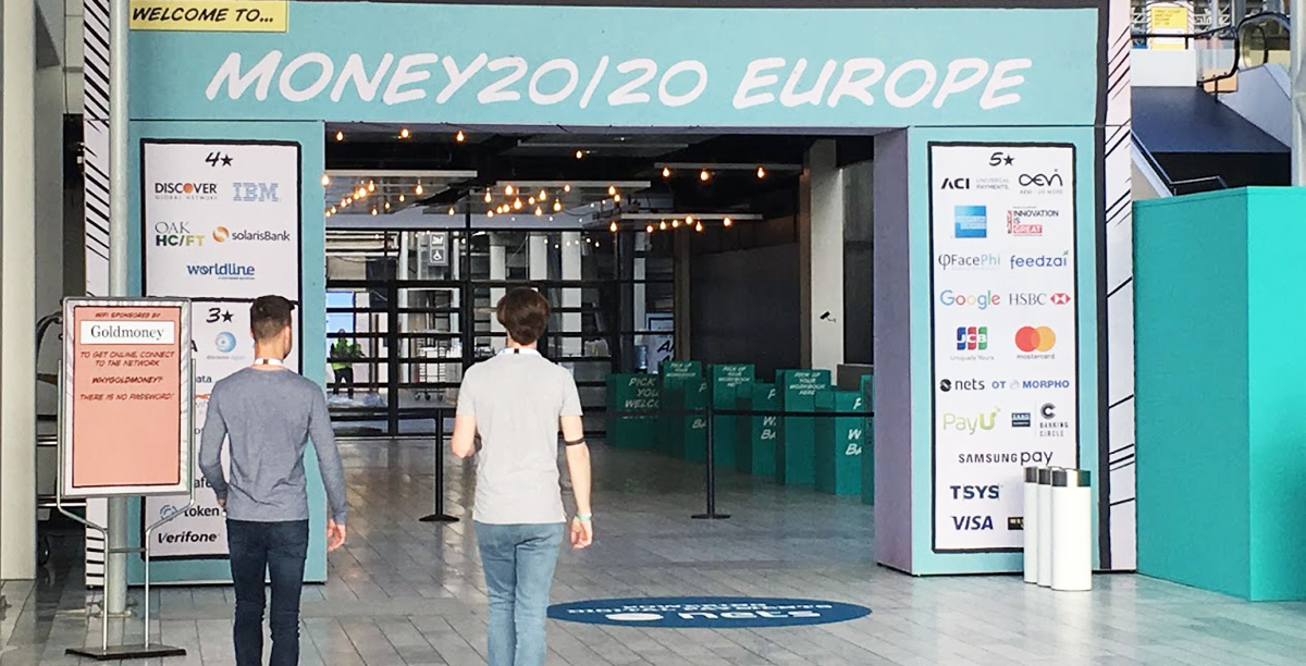 Money 20/20 Messe in Kopenhagen
