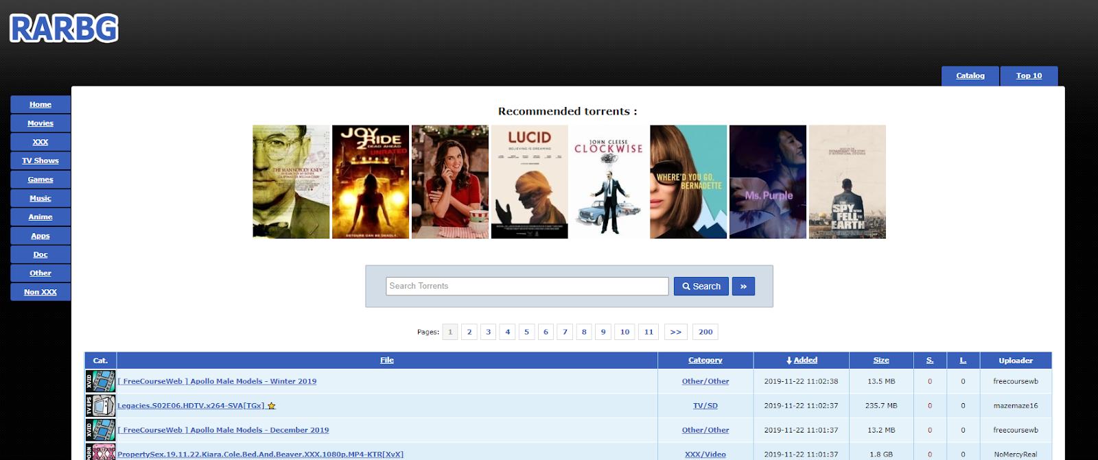 RARBG malayalam movies torrent