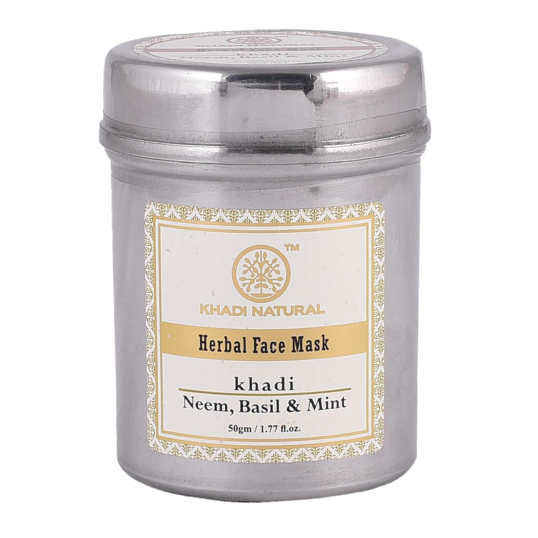 Khadi Natural Neem, Basil and Mint Anti Acne Face Mask