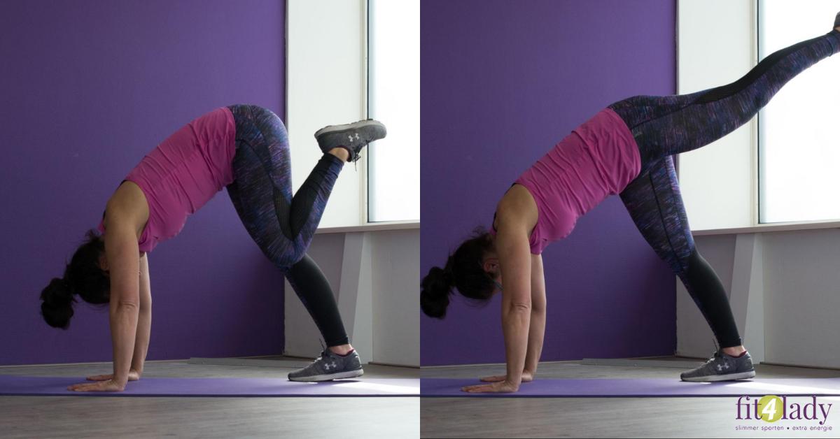 Top 10 oefeningen voor benen en billen vrouwen.