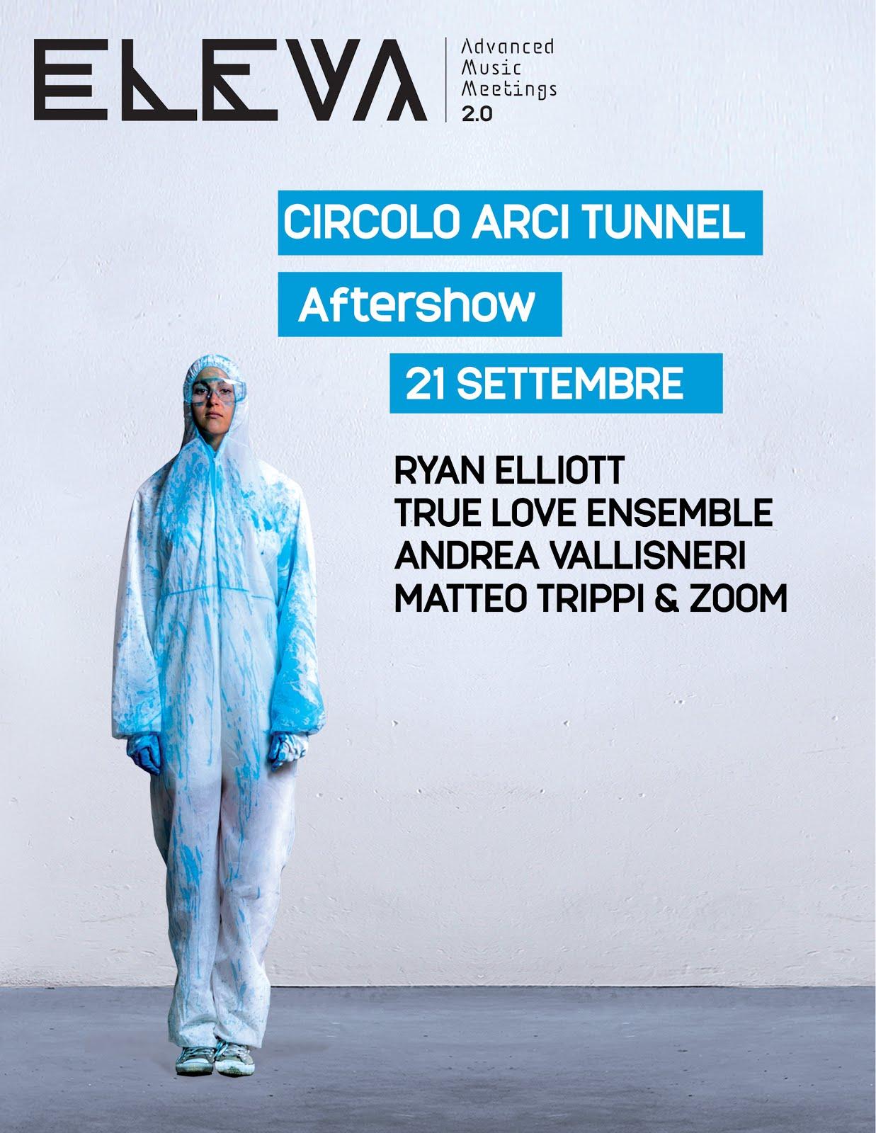 Eleva Festival Meeting Blu 20 Settembre @Tunnel Club