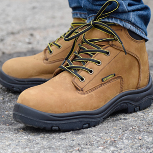 Leather waterproof wading boots for fishing