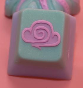 Amidst The Clouds - Cosmic Candy - Teal Cloud Cap
