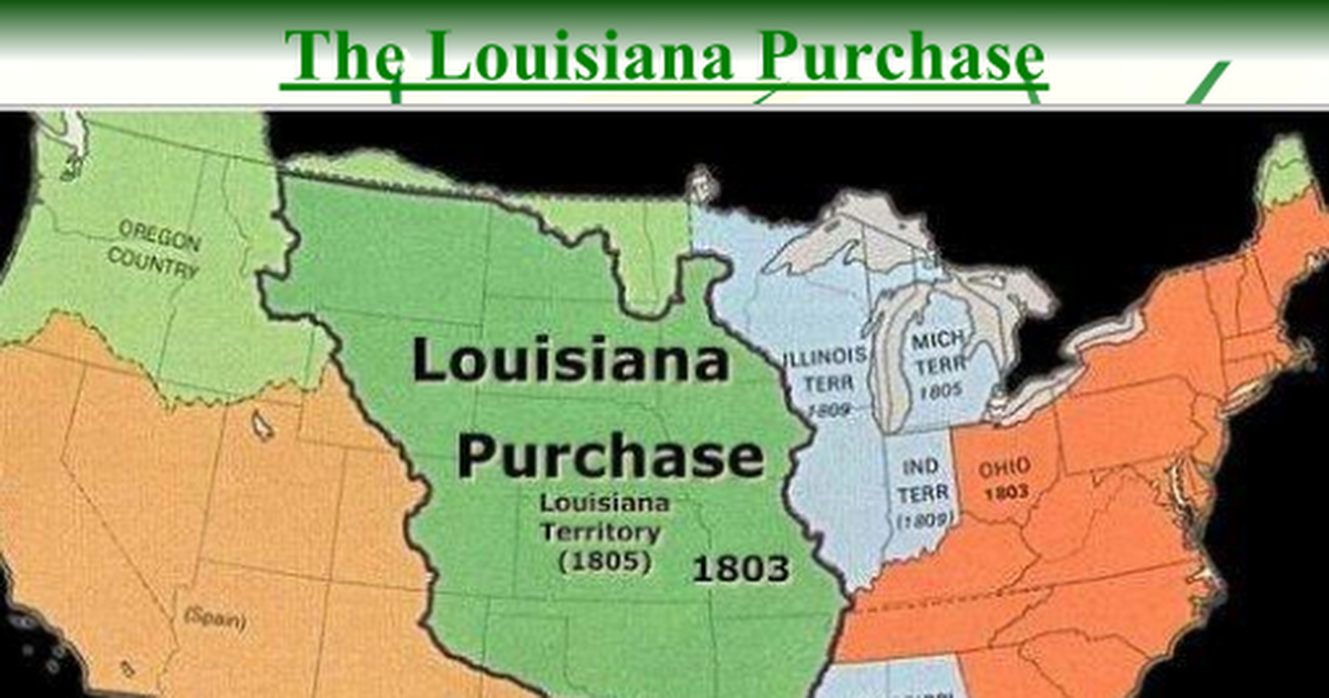 louisiana purchase powerpoint 5th grade The following lessons, activities, and resources for grades k-5 will let students examine the expedition and its discoveries from the view points of the expedition members and the native americans who helped them along the way.