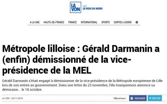 Gérald Darmanin - Lille