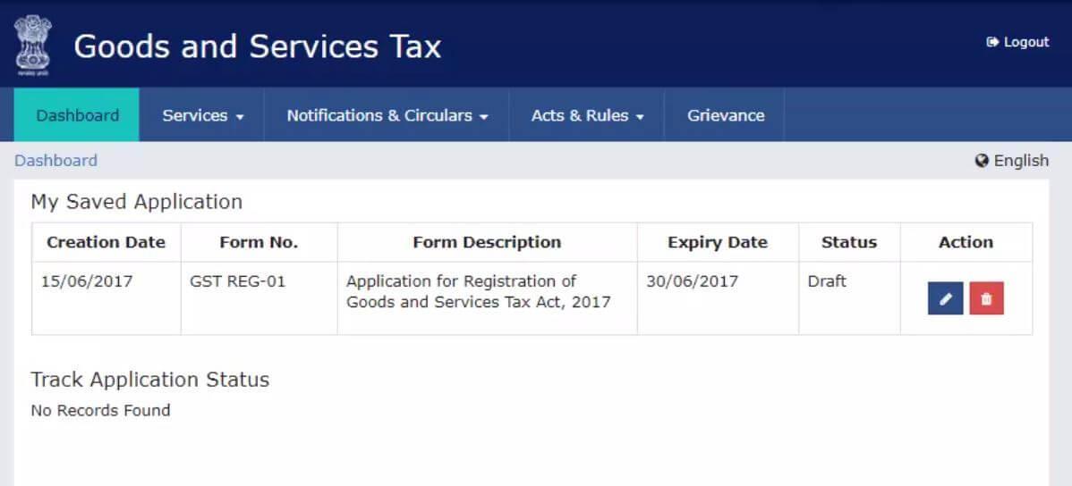 GST registration steps - 7