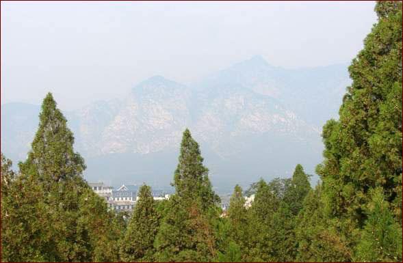горы Шаошишань