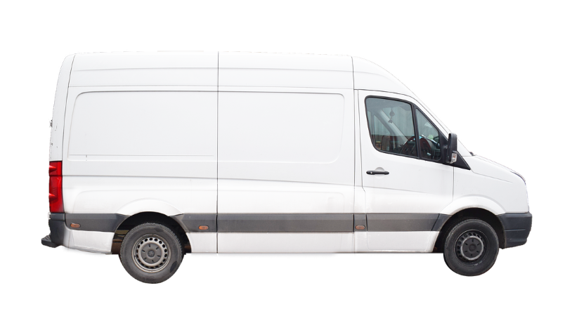 moving truck sizes include the cargo van which is good for smaller local moves.