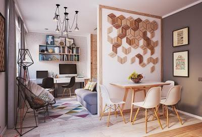 C mo decorar y organizar un espacio peque o for Organizar espacios pequenos