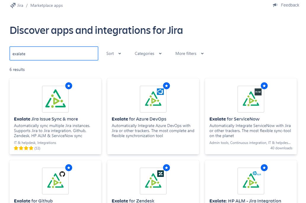 exalate integration for jira