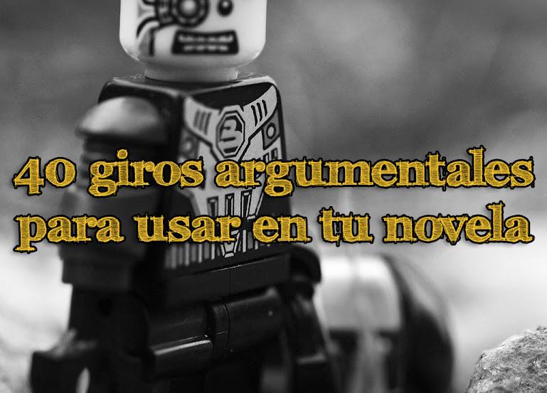 Giros argumentales novelas