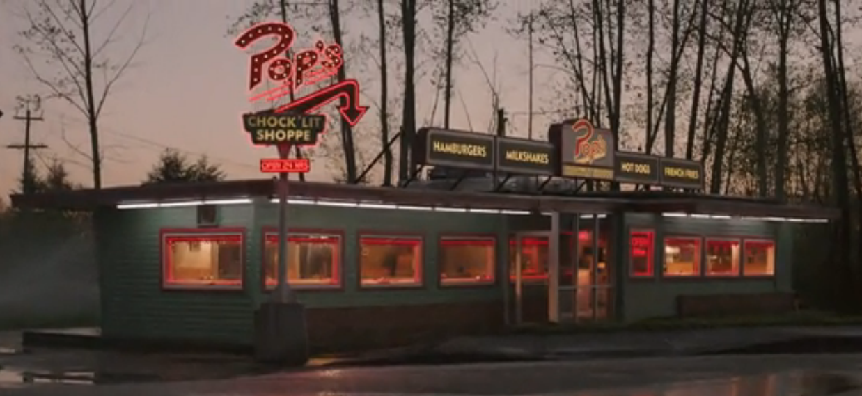 Image result for riverdale pop's diner