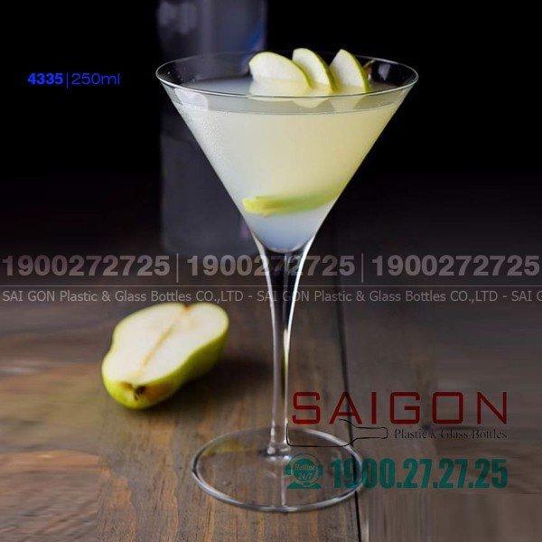 Ly Thủy Tinh Pasabahce V-Line Martini 250 ml | Pasabahse 44335