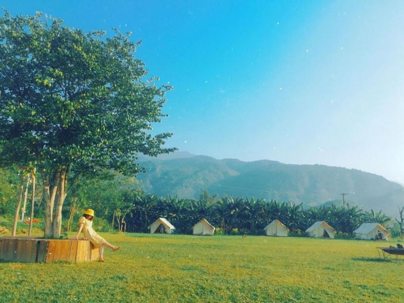 Khung cảnh yên bình tại Yên Retreat