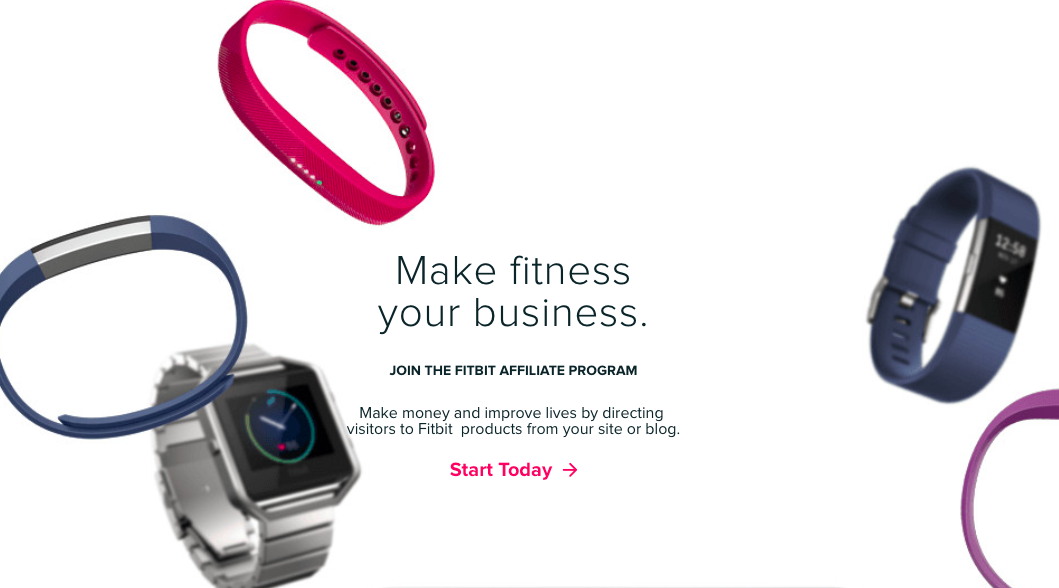 fitbit make money from your site