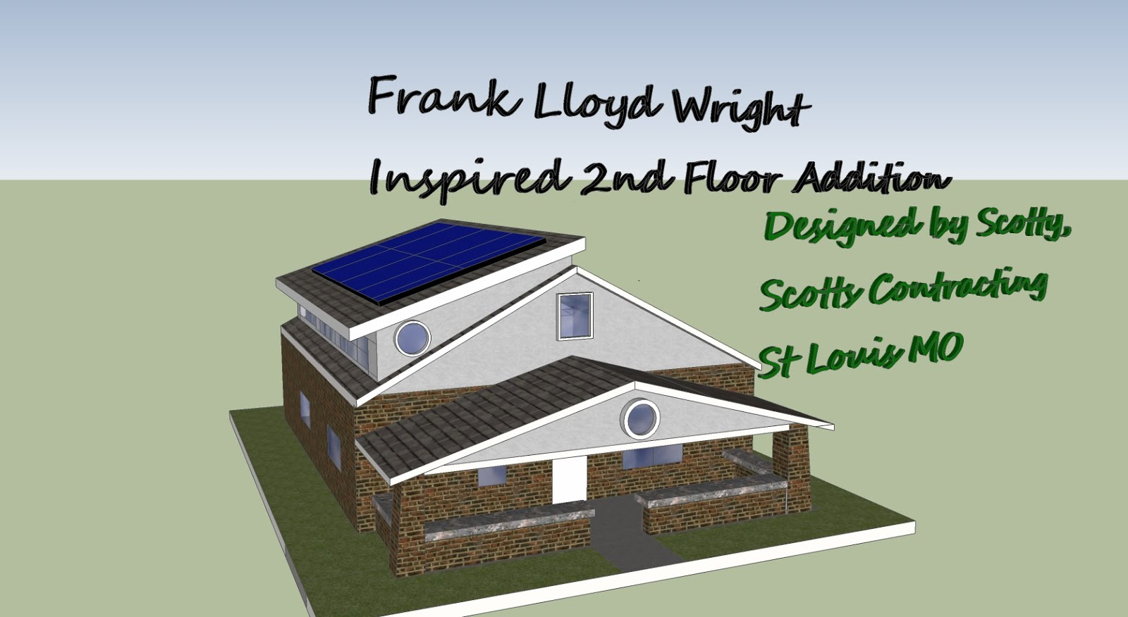 Frank Lloyd Wright Inspired Room Addition Estimated Project Costs
