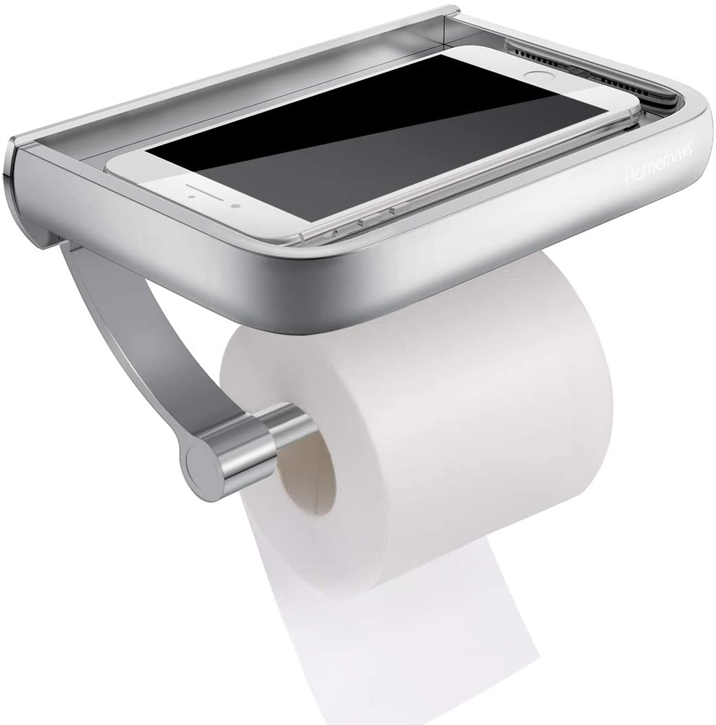 Tiny House Toilet Paper shelf