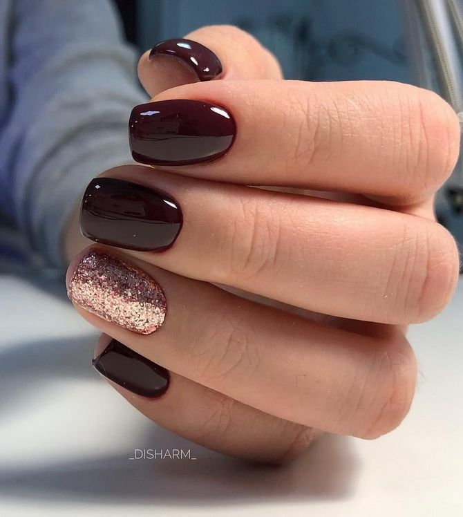 Manicure for very short nails