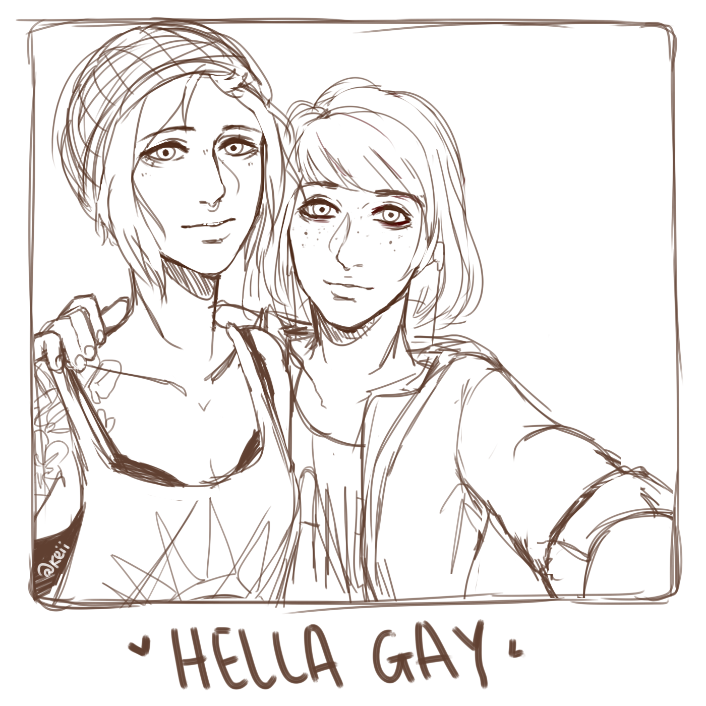 life is strange hella gay