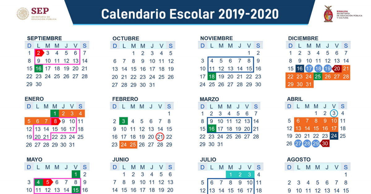 Calendario Agosto 2020.Calendario 2019 2020 Pdf Google Drive